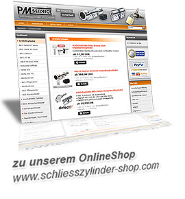 OnlineShop schliesszylinder-shop.com